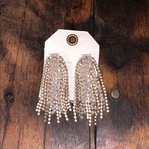 Anthropologie sparkle drop earrings